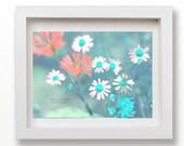 5x7 Magic mint green meadow - home decor pastel photography