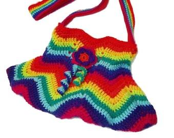 Crochet Bag RainBoW
