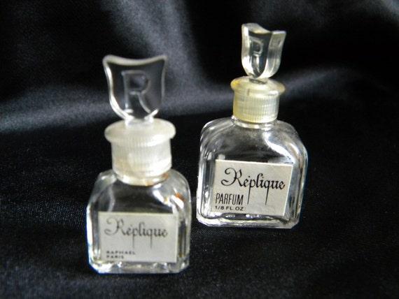 mini french empty perfume bottles