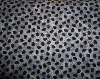 Cafe Au Lait Fabric by Windham 1 yard Coffee Beans