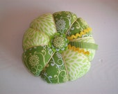 Springtime Green Pin Cushion