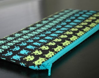 Space Invaders Coupon Holder/Pencil Case