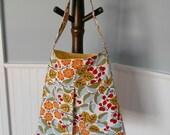 Mod Floral Pleated Shoulder Bag