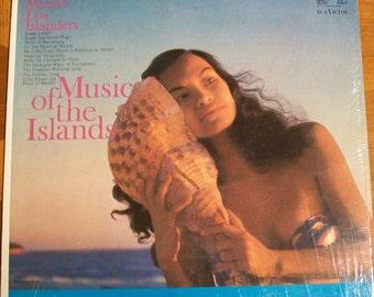 Music of the Islands Vintage Hawaiian Record 1959