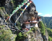 8X10 - Tiger's Nest, Bhutan - Travel Photography