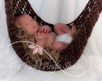 Crochet Hammock Newborn Photography Prop
