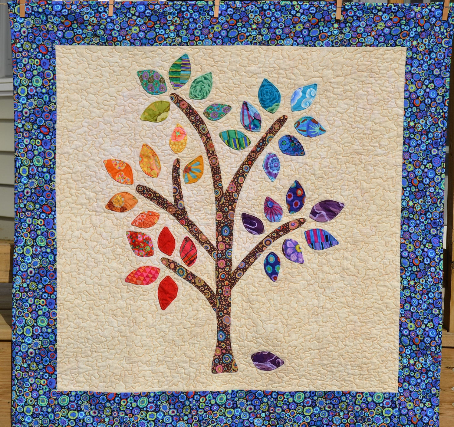 Happee Tree Quilt Pattern Pdf Applique The Easy Way Pdf