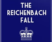 BBC Sherlock iPhone/iPod Touch Cover: The Reichenbach Fall