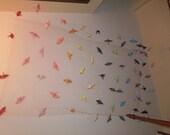 origami cranes ceiling decoration