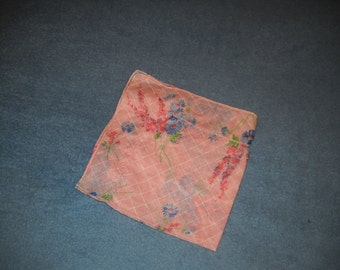 Embroidered Vintage Handkerchiefs