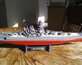 Battleship Yamato-1/350 scale model-Highly detailed-handcrafted.