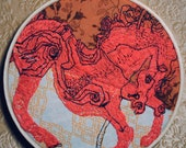 Catcher In the Rye Horse Embroidery