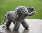 Crochet Stuffed Elephant (Any color)