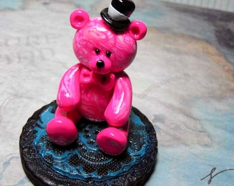 Lucius Ooak Hand Sculpted collectible Bear