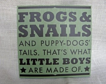 Frogs & Snails
