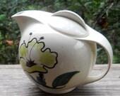 Blue Ridge Evening Flower teapot southern potteries