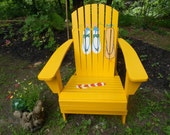 Adirondack Chair in Custom Colors and Designs.
