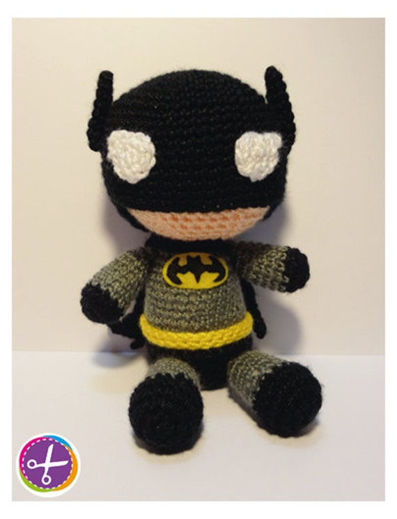 Amigurumi Crochet Batman : Items similar to Batman Amigurumi on Etsy