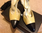 Authentic Vintage Shoes - Chanel Heels (Size 37.5)