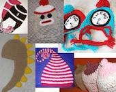 Baby Bundle... Any 5 Baby Hats... Newborn to 3 years