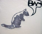 FlashMob BAM Squirrel T-Shirt