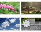 Sympathy Photo Cards, Set of 4, Fine Art Photography, Nature, Greeting Cards