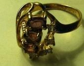 amethest stone ring