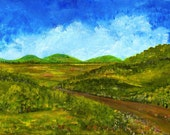 New Original Acrylic Painting 2012 Season