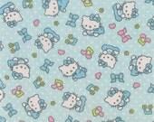 1 yard of Hello Kitty Baby Music Flannel Fabric