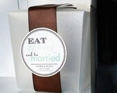Wedding Favor Tags - EAT DRINK And Be MARRIED Printable