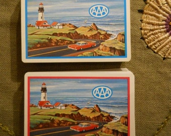 Playing Cards From AAA in Original Box