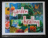 Garden Healing - Collage Card