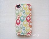 iphone 4/4S case - pastel color drop