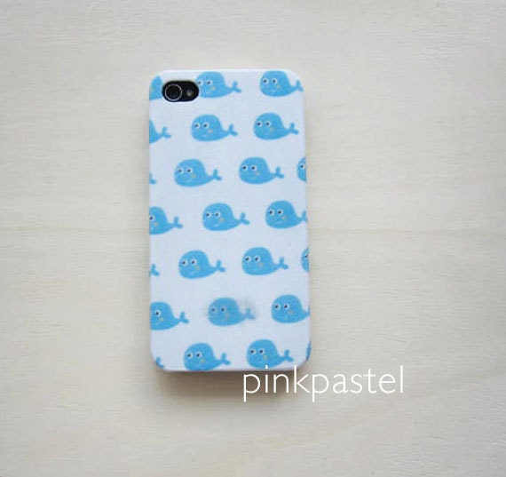 whale iphone case iphone 4 4s whale print 9833