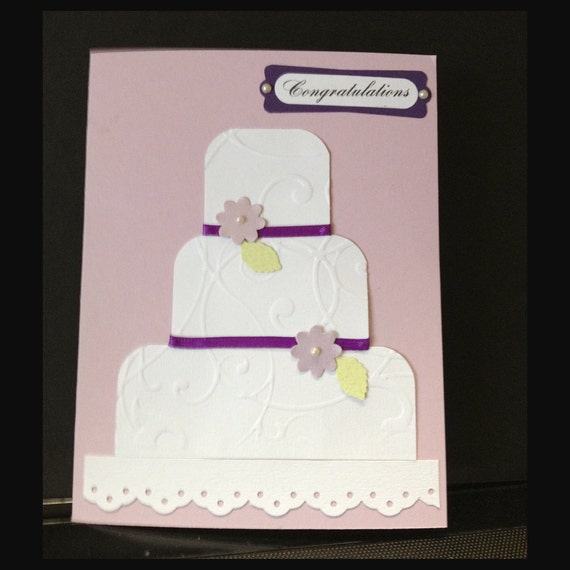 how to make a wedding cake card box with fabric wedding cake congratulations handmade card with pearls and 15886
