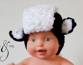 Newborn 'Lil' Stinker' Skunk Costume Photography Prop