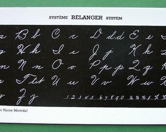 INK BLOTTER Belanger System of Penmanship