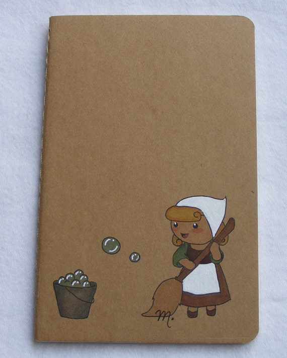 OOAK Disney Cinderella Themed Moleskine Pocket Journal