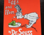 Dr. Seuss Green Eggs and Ham Inspired Painting FREE SHIPPING