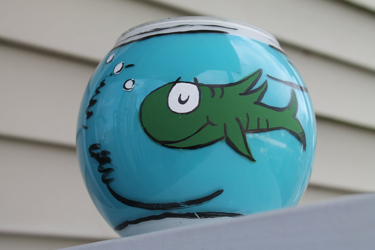 Dr Seuss Pottery Barn Kids Inspired Fish Bowl