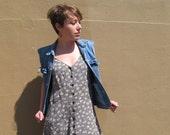90s Betsey Johnson Label Grunge Dress, size 10