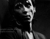 Johnny Thunders-Paris 1984-Copyright Louise Maisons-all rights reserved
