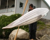 Custom, Aleut-inspired, skin-on-frame sea kayaks: for commission.