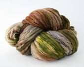 Hand Dyed Thick-n-Thin Merino Wool Yarn - Earth
