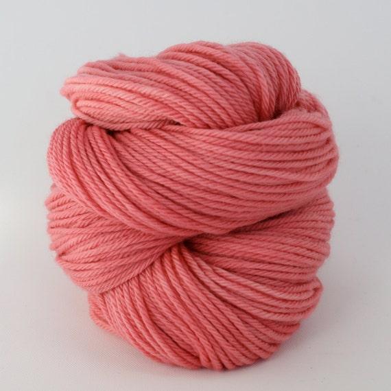 Supernova - Hand Dyed Superwash Merino Wool Worsted Yarn - Colorway: Watermelon