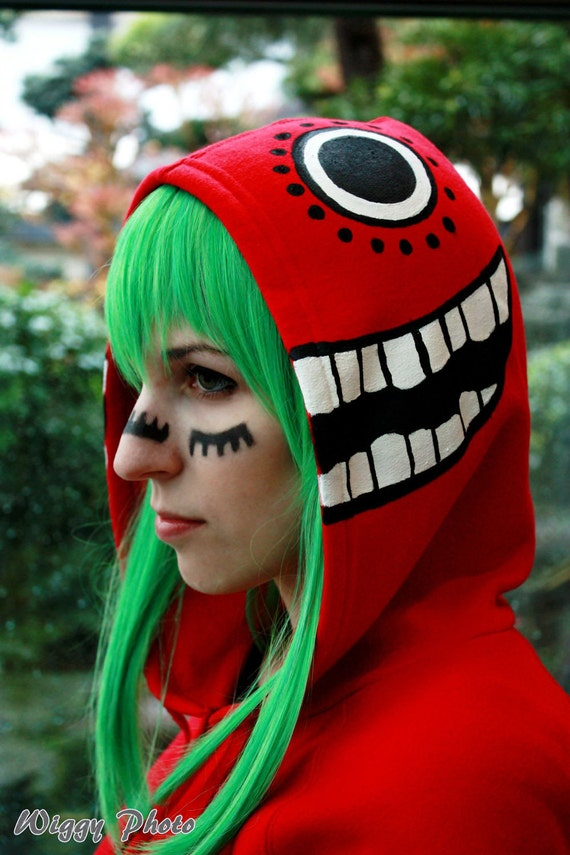 Vocaloid Matryoshka Painted Hoodie (Labor Only)