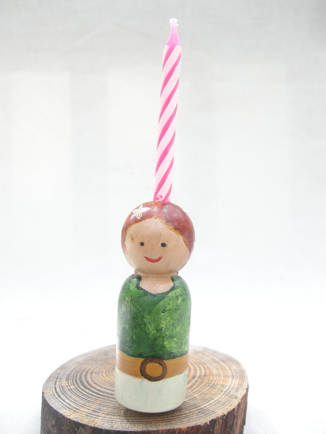 Doll Birthday Cake Candle