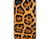 iPhone 4 Case - Jaguar Print New Plastic Fitted Case For iPhone 4 & iPhone 4S