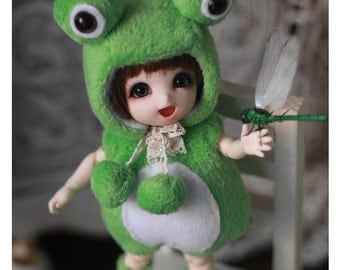 Frog Outfit For Lati Yellow or PukiFee