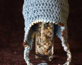 Crochet Earflap beanie